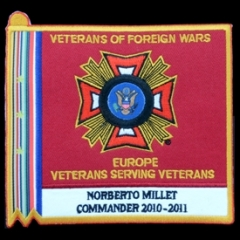 Patch VFW Norberto Millet