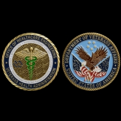 Department of Veterans Affairs Coin