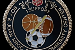 Pin Salvation Army Sports