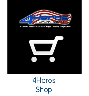 Custom Military VFW Coins, Medals, Pins, Patches | 4Heros
