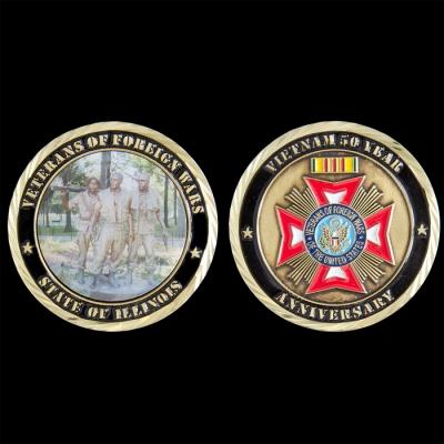 Custom Honor Flight Challenge Coins | 4Heros